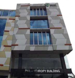 Memaksimalkan Potensi Wakaf, Gedung Philanthropy