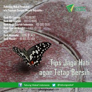 Tips Jaga Hati agar Tetap Bersih