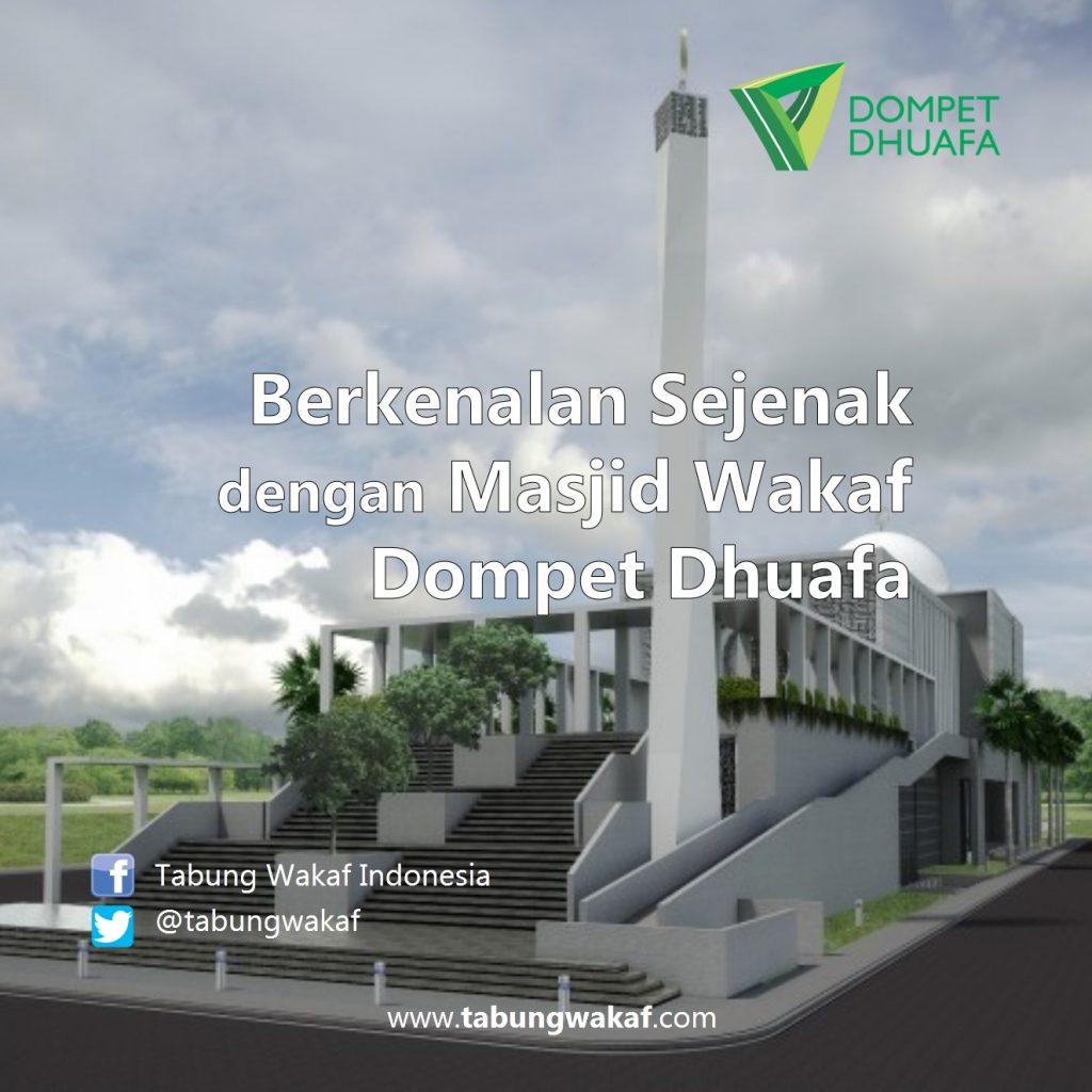 Masjid Wakaf Dompet Dhuafa