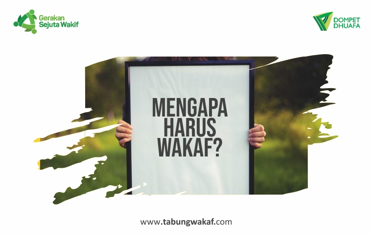 Mengapa Harus Wakaf, Kenapa Wakaf, Perbandingan Wakaf dengan Sedekah