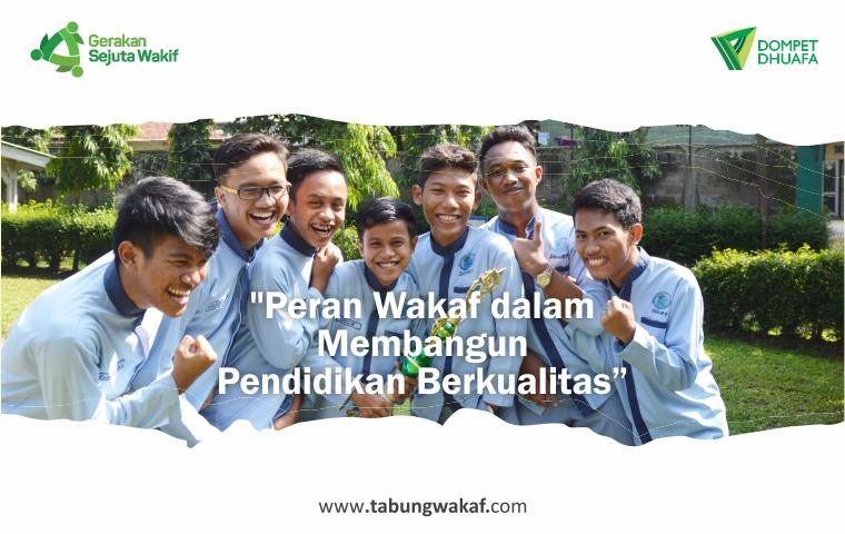 Peran Wakaf, Wakaf Produktif, Sejarah Wakaf Produktif, Nizhamul Mulk, Wakaf Pendidikan