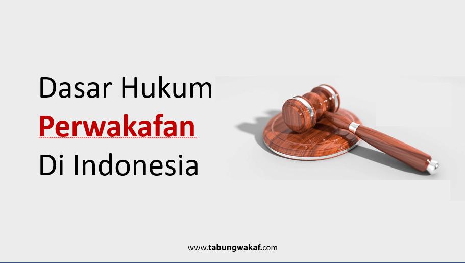 Dasar Hukum Perwakafan di Indonesia