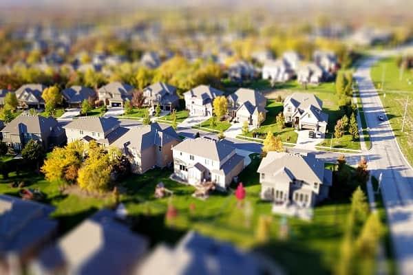 Komplek perumahan hijau untuk golongan menengah ke atas