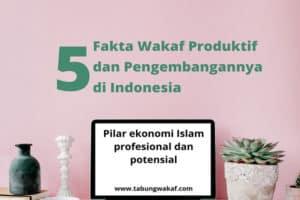 Fakta wakaf produktif sebagai pilar ekonomi Islam dan pengembangannya di Indonesia - Tabung Wakaf