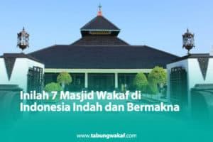 Masjid wakaf di Indonesia